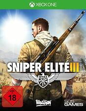 Xbox one jeu: sniper ELITE v3 xb-One d1 uncut AFRIQUE INCL. Grey wolf NOUVEAU & OVP