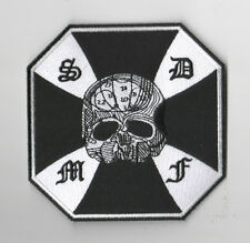HEAVY METAL BAND BLACK LABEL SOCIETY BLS PATCH: BLS SKULL CROSS 4.5""