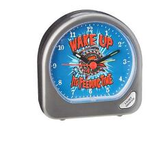 New Licensed WWE RYBACK Feed Me More Wake Up Its Feeding Time Alarm Clock COOL!