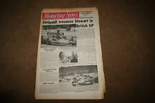 Motoring News 20 July 1972 British GP F1 F5000 F3 Long Marston Rallycross
