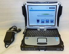 Panasonic CF-19 Toughbook 128GB SSD touch Windows 10 64 Core i5 2.60GHZ 4GB MK6