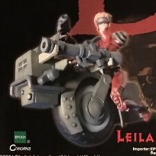 Vampire Hunter D - Leila And Her Bike 1/10th Scale Figure - EPOCH 2001