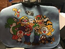 Very Rare Nintendo Super Mario Shoulder Messenger School Bag