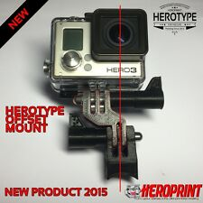 Offset HEROType GoPro Lente Lens Center centrato centro BICICLETTA BIKE Hero 2 3 4