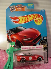 NEW 2016 Hot Wheels '15 MAZDA MX-5 MIATA #88✰Red;pr5✰night burnerz✰Case M/N