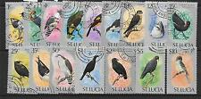 ST.LUCIA SG415/30 1976 BIRDS FINE USED