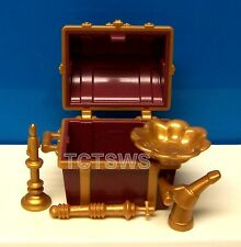 Playmobil Knight, Vikings, Pirate Chest, Treasure Coffer w/ Gold Items NEW