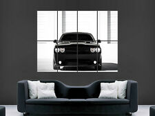 DODGE CHALLENGER SRT CHARGER CAR ART WALL PICTURE POSTER  GIANT HUGE !!!