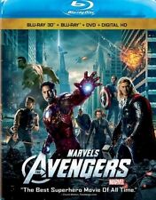Marvel The Avengers 3D Blu-ray DVD and Digital Copy English French & Spanish