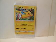SEALED Pokemon PIKACHU Card Black Star PROMO SM04 Set Target SUN and MOON Launch