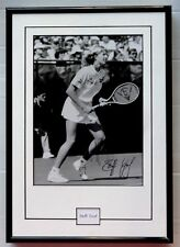 "Steffi Graf signed framed photo 9"" x 13"". Will ship without glass"