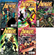 Avengers Prime #1-5 Complete Comic Set (Thor/Captain America/Iron Man)