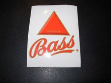 BASS black and tan Logo STICKER decal craft beer brewery brewing
