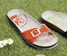 WOMENS DIESEL CANDY ORANGE SLIP ON SANDALS - UK SIZE 7 - BRAND NEW.