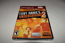 Tony Hawk's Underground 2 Sony Playstation 2 PS2 Video Game New Sealed