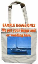 Canvas Bags with your custom image and or text on it.