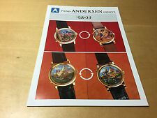 Press Release SVEND ANDERSEN - EROS - Third Millennium - Watch NOT Included