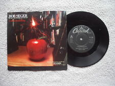"""BOB SEGER AND THE SILVER BULLET BAND UNDERSTANDING CAPITOL RECORDS UK 7"""" in P/S"""