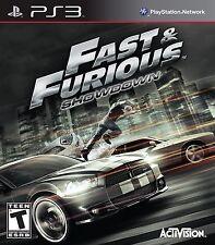 NEW Fast and & Furious: Showdown (Sony Playstation 3, 2013) NTSC