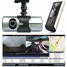 "1080P 2.7"" Vehicle Car DVR Camera Video Recorder Dash Cam G-Sensor GPS Dual Lens"
