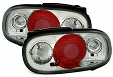 Mazda MX5 Convertible (1989-1998) Clear Lens Chrome Rear Back Tail Lexus Lights