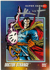 Sam Keith SIGNED 1992 Marvel Universe Art Trading Card ~ Dr Doctor Strange