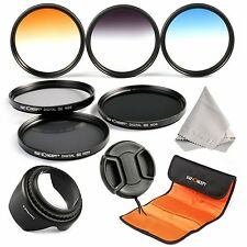 K&F Concept 58mm 6pcs Lens Accessory Filter Kit Neutral Density Filter for Ca...