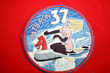 US NAVY WW2 MOTOR TORPEDO BOAT MTB SQUADRON JACKET PATCH RON 37