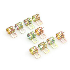 """10Pcs Spring Clip Fuel Oil Water Hose Pipe Tube Clamp Fastener 6mm / 0.24"""""""