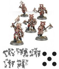 Chaos Khorne BLOOD WARRIORS x 5 Age of Sigmar