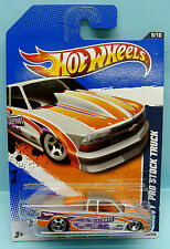 910 HOT WHEELS / CARTE LONGUE US / 2010 DRAG RACERS / CHEVY PRO STOCK TRUCK 1/64
