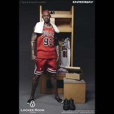 NBA x Enterbay Basketball Locker Room 1/6 Scale for 12 inch Figures OR-1003