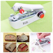New Portable Mini Hand Drive Sewing Machine Stitch Repair Clothes Curtain Singer