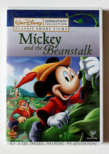 Mickey as Jack and the Beanstalk Brave Little Tailor Classic Disney Cartoons DVD