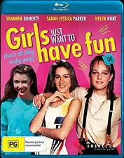 GIRLS JUST WANNA HAVE FUN (2006 Helen Hunt) -   Blu Ray - Sealed Region B