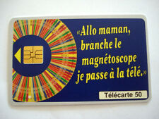 PHONECARD TELECARTE FRENCH GAME TV MILLIONNAIRE JEU TELEVISION