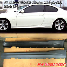 07-13 BMW E92 E93 2dr 3-SeriesM Style Side Skirts (PP)