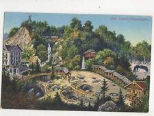 Luzern Gletschergarten 17099 Switzerland Vintage Postcard 334b