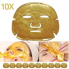 10pcs Gold Collagen Bio Crystal for Face Facial Mask Anti Ageing Wrinkle Mask DH