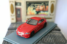BMW Z4 M COUPE E86 RED 2009 NEO 44466 1/43 ROUGE ROSSO ROT ROADSTER DEUTSCHLAND