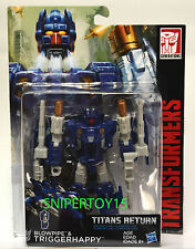 Transformers Generations Titans Return Deluxe Blowpipe & Triggerhappy