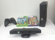 Microsoft Xbox 360 S with Kinect 4 GB Console+ Minecraft and Kinect Adventures