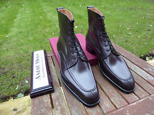 VT730 - Vass NORWEGER DERBY BOOTS - Oxblood Calf - EU 43.5 - US 10.5 D - U Last