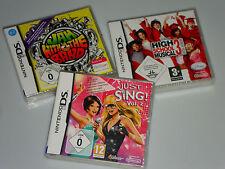 3 NINTENDO DS SPIELE AUCH FÜR NINTENDO DS LITE DSi XL 3DS ALLE NEU