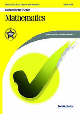 SQA Maths Standard Grade/Credit Official SQA Past Papers 2002 - 2006 With Answer