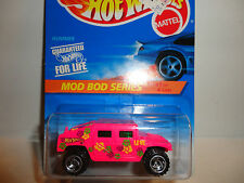 Hot Wheels #396 Pink Hummer w/Razor Wheels