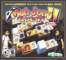 Mah Jong Quest II PC Game Window 10 8 7 Vista XP Computer mahjong quest 2 puzzle