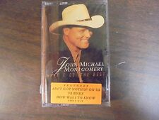 "NEW SEALED ""John Michael Montgomery"" What I Do The Best Cassette Tape (G)"