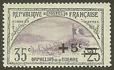 "FRANCE STAMP TIMBRE N° 166 "" ORPHELINS 1922 "" NEUF xx TTB"