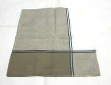 """USE BROWN & WHITE  PAISLEY  PATTERN COTTON 18""""HANDKERCHIEF FOR MEN"""
